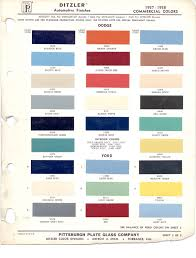 1966 chevy truck factory color code the 1947 present chevrolet