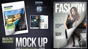 cover mock up page flip curl free for photoshop youtube