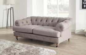 2 Seater Fabric Chesterfield Sofa by Linen Sofas Uk Tehranmix Decoration
