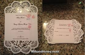 Backyard Wedding Invitations A Crafty Cricut Backyard Wedding
