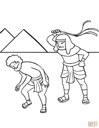israel u0027s enslavement in egypt coloring page free printable