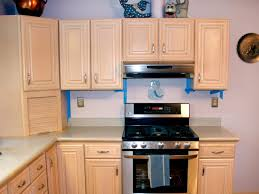 How To Antique Kitchen Cabinets by Spray Painting Kitchen Cabinets Pictures U0026 Ideas From Hgtv Hgtv