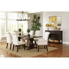 Dining Room Groups Coaster Parkins Double Pedestal Dining Table Beck U0027s Furniture