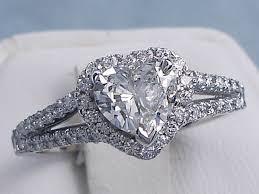 diamond shaped rings images 1 04 ctw heart shape diamond engagement ring g vs2 gif