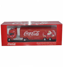 cola holidays are coming truck 1 76 scale diecast model
