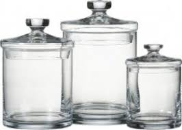 kitchen canisters glass glass kitchen canister sets foter