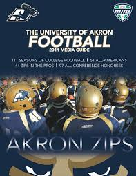 2011 akron football media guide by akron zips issuu