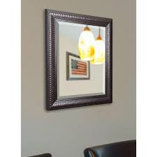 Bevelled Floor Mirror by Glacier Bay 31 In X 21 In Small Beveled Oval Mirror 1845 The