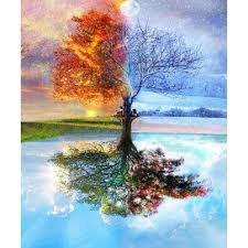 2017 diy diamond painting cross stitch home decor four seasons