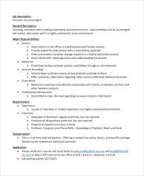 cover letter for insurance agent life insurance agent job description for resume itacams