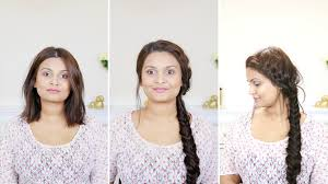 how to do a french fishtail braid for short hair with extensions