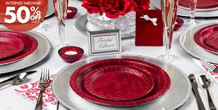 wedding party plates ruby 40th wedding anniversary party supplies happy planner