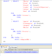 Sql Server Create Table Example Sql Server Simple Example Of Creating Xml File Using T Sql Sql