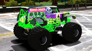 grave digger 30th anniversary monster truck 375 grave digger monster truck new vehicle gta iv 60 fps