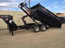 2018 pj trailers rollster roll off dump dr 14 u0027 w dump box stock