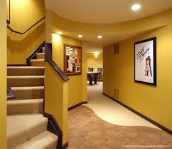 interior terrific finished basement ideas with kitchen bar and 4