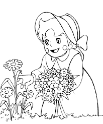 heidi coloring pages coloring pages for kids