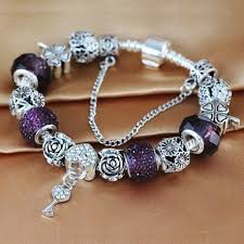 bracelet style pandora with charms images Bracelet charms bracelet pandora livraison offerte jpg