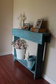 Thin Console Table I Love How Skinny This Table Is Our Entry Is Too Narrow For Much