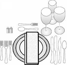 Formal Setting Of A Table Formal Table Settings Humble Joes