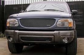 Ford Explorer Black - 98 01 ford explorer 4dr upper mx series black grille insert