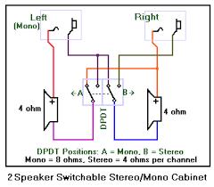 wiring a 2 x 12 speaker cabinet