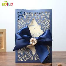 royal blue wedding invitations royal blue wedding invitation card paper wedding cards 2018 in