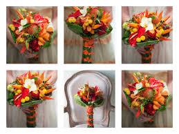hawaiian themed wedding pantone 2012 tangerine inspiration at philadelphia flower