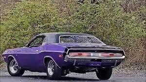 Dodge Challenger 1960 - plum crazy 1970 dodge challenger rt youtube