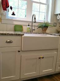 Kitchen Apron Sink Our Farmhouse Sink Tips To Clean And Care For Porcelain Sinks