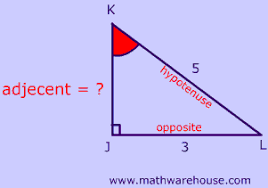 sine cosine and tangent ratios of a triangle how to write the