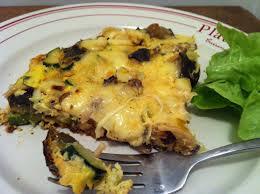 courgette cuisiner frittata broccoli courgette et mozzarella envie de cuisiner