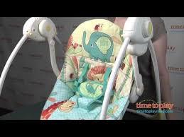Comfort And Harmony Portable Swing Instructions Bright Starts Sunnyside Safari Portable Swing From Kids Ii Youtube