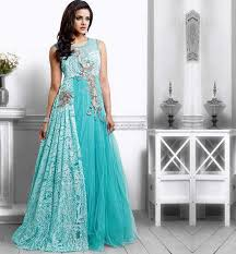 gown for wedding stunning sky blue gown vdpak1044 lovely gowns for wedding