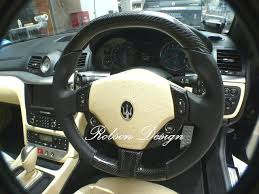 maserati steering wheel maserati steering wheel excluded switch cover carbon fiber robson