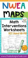 Map Nwea Test Nwea Map Prep Math Worksheets Rit Band 180 191 Interventions