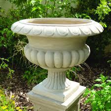 Stone Urn Planter by Garden Urns Canada Garden