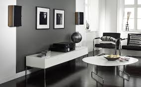 Living Room With White Furniture Gray Walls With Brown Furniture Living Room Furniture To