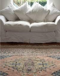 light pink wool rug large vintage persian rug oates co