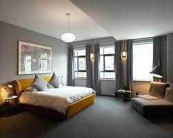 deco chambre jaune et gris chambre gris et noir chambre jaune et grise chambre d adulte grise