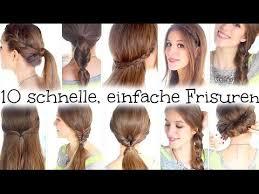 Frisuren Lange Haare Schnell by 10 Schnelle Und Einfache Frisuren Für Schule Uni Arbeit