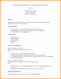 Forklift Duties Resume 5 Resume Objective For Receptionist Forklift Resume