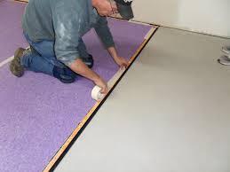 superseal u0027s carpet subfloor installing the carpet pad