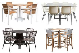 robust tables outdoor patio furniture chair for pedestal bar table