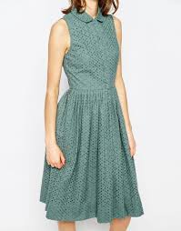 image 3 of asos midi broderie shirt dress things i want