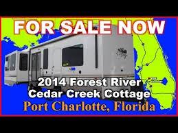 Cedar Creek Cottage Rv by 2014 Forest River Cedar Creek Cottage 40crl Used Travel Trailer