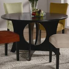 amazon com coaster castana round dining table with crossing