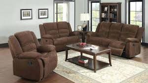 Sofa Recliner Set Reclining Sofa And Loveseat Set 2 Furniture Of Collection Gray