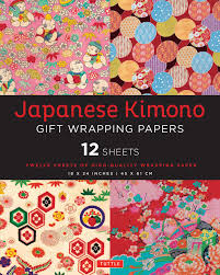 Japanese Gift by Japanese Kimono Gift Wrapping Papers Book By Tuttle Publishing