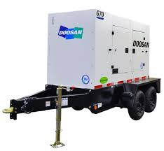 doosan portable power introduces three new mid range t4i generator